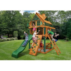 Gorilla Chateau Tower Treehouse w/ Timber Shield™ - Amber (01-0062-TS)
