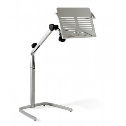 Jesper Office 200 Tablet Floor Stand  - White (200-WH)