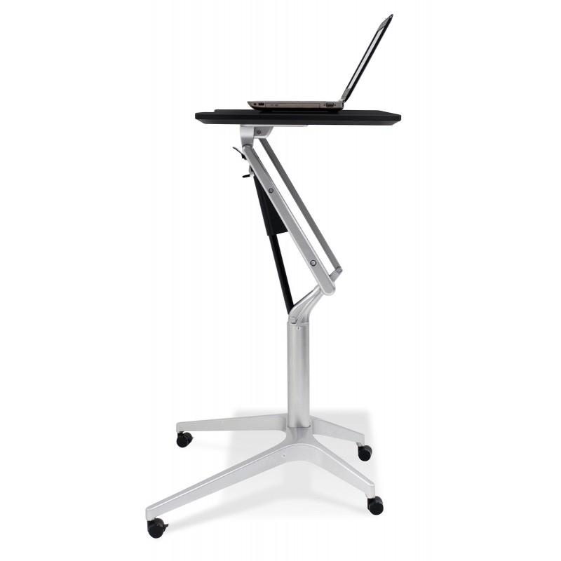 Jesper Office 201 Workpad Height Adjustable Laptop Desk - Espresso Top (201-ESP)