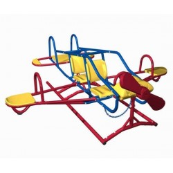 Lifetime Ace Flyer Airplane Teeter Totter - Primary Colors  (151110)