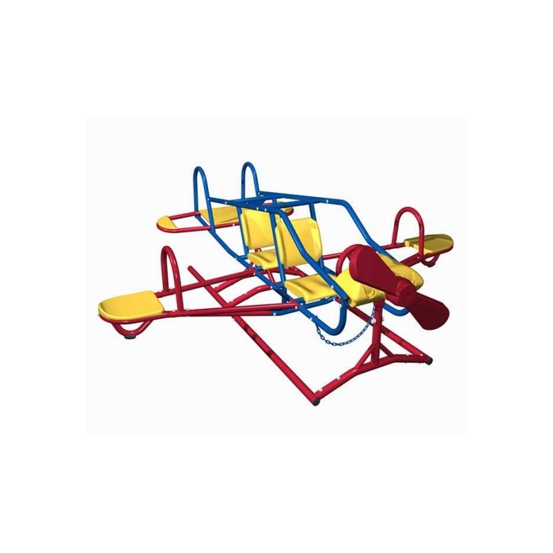 Lifetime Ace Flyer Airplane Teeter Totter (Primary) 151110