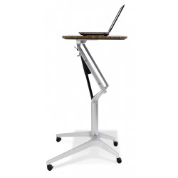 Jesper Office 201 Workpad Height Adjustable Laptop Desk - Walnut Top