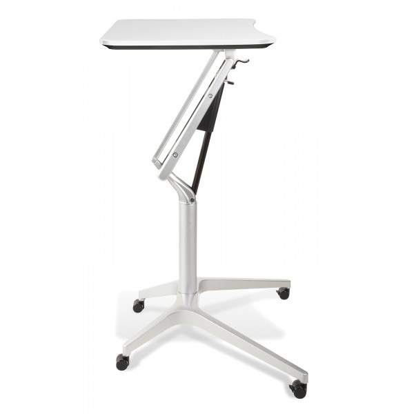 Jesper Office 201 Workpad Height Adjustable Laptop Desk   White Top (201 WH)