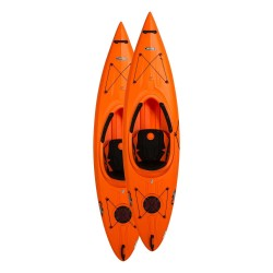 Lifetime 2-Pack 10.25 ft Arrow Plastic Kayaks - Orange (90735)