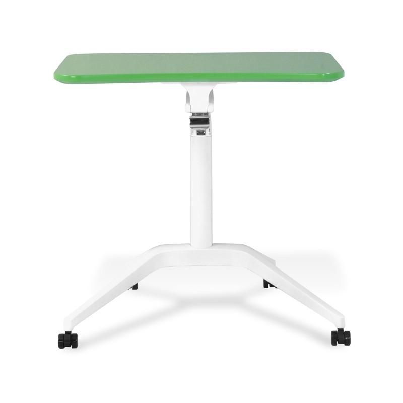 Jesper Office 201 Workpad Height Adjustable Laptop Desk - Green Top (201-GRE)