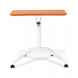 Jesper Office 201 Workpad Height Adjustable Laptop Desk - Orange Top