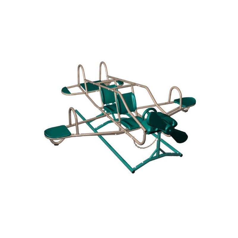 Lifetime Ace Flyer Airplane Teeter Totter (Earthtone) 90135