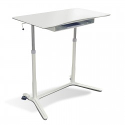 Jesper Office 204 Height Adjustable Sit Stand Desk White (204-WH)