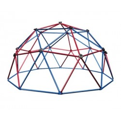 Lifetime Kids Metal Dome Climber (Red and Blue) 101310