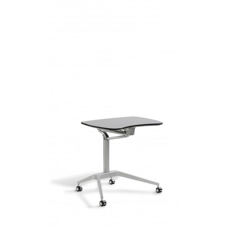 Jesper Office Laptop Cart Height Adjustable Desk - Expresso (208-ESP