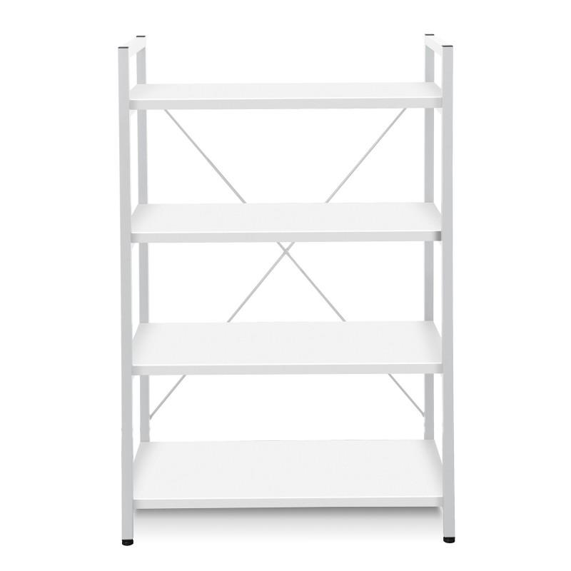 Jesper Office Metal Frame Bookcase - White  (213-WH)
