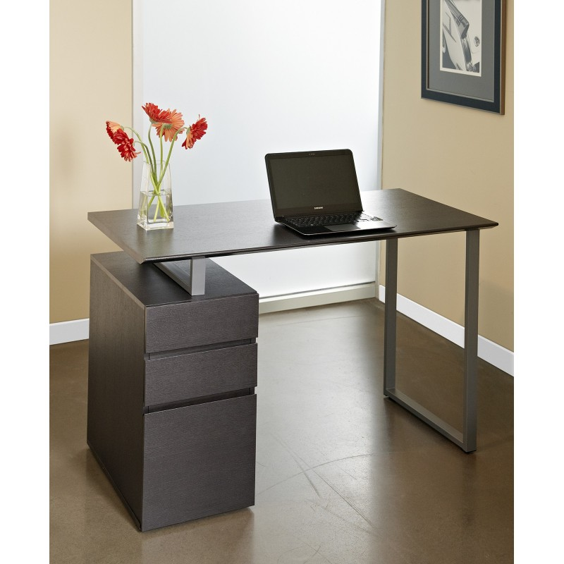 Jesper Office Writing Desk with Drawers - Espresso (220-ESP)