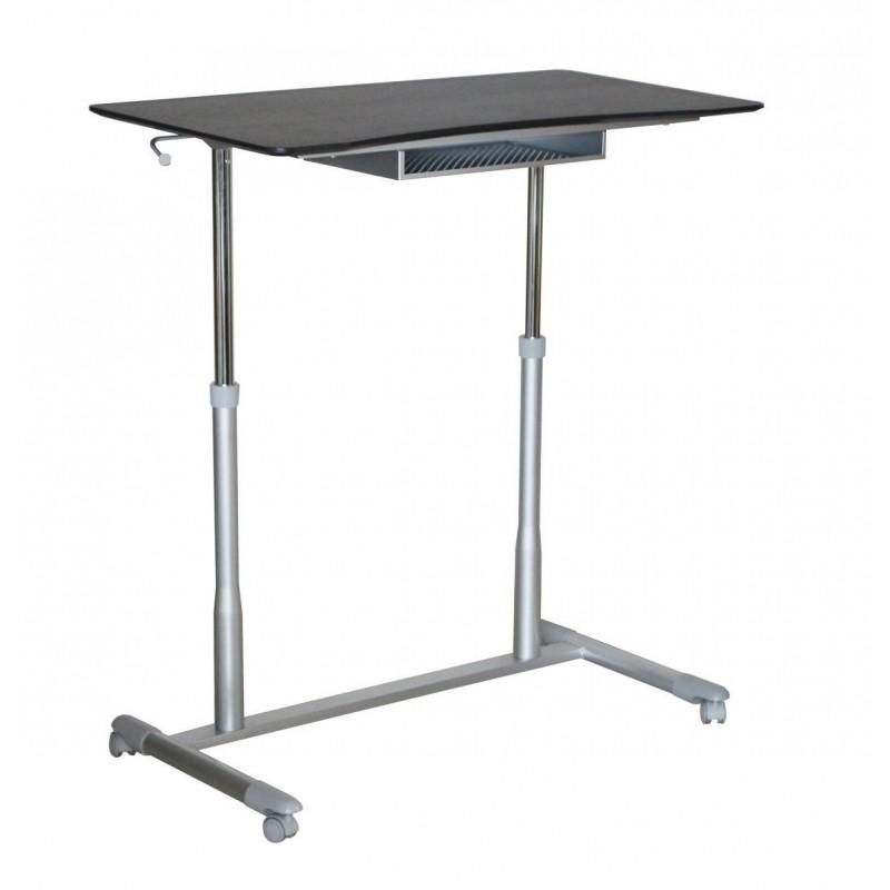 Jesper Office 205 Stand Up Desk Height Adjustable & Mobile Espresso Top (205-ESP)