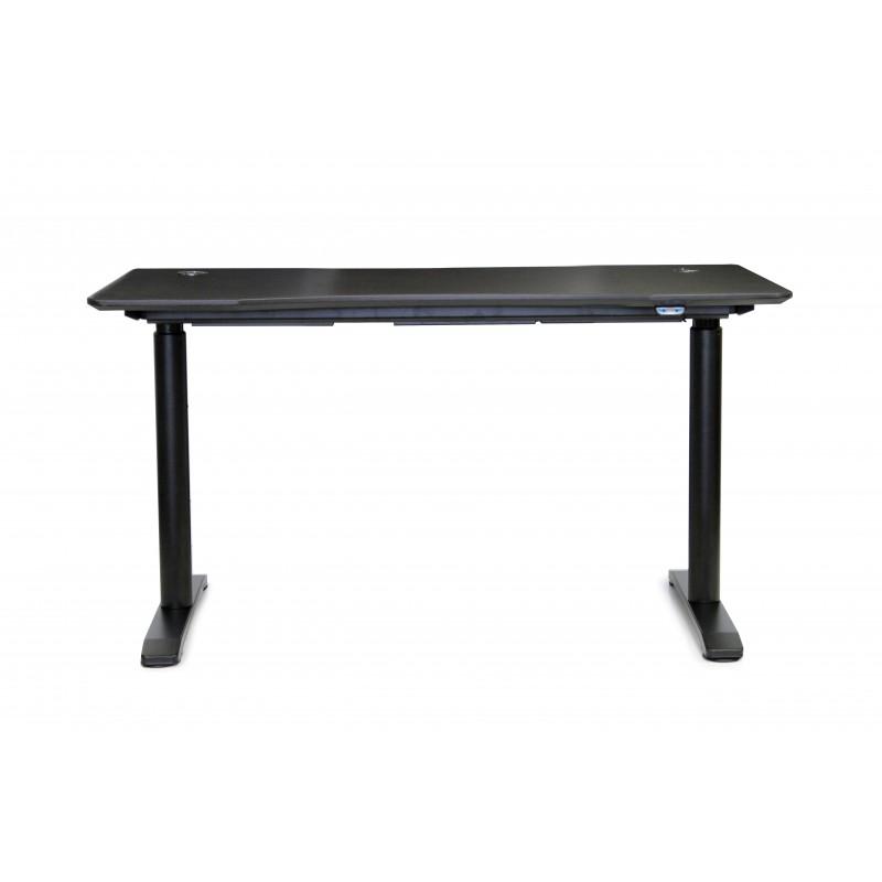"Jesper Office Collection Electric Height Adjustable Sit Stand Desk 55"" Espresso (75527-ESP)"