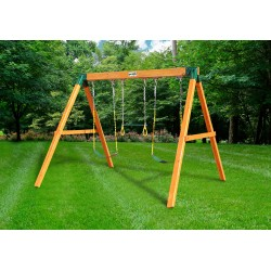 Gorilla 3 Position Cedar Wood Swing Set Kit - Amber (01-0002)