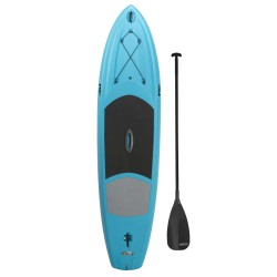 Lifetime 11 ft Amped Paddleboard w/ Paddle - Glacier Blue (90579)