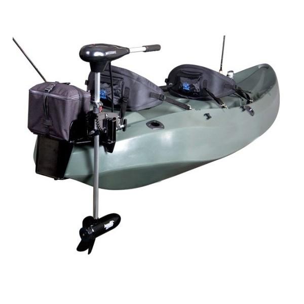 12 Volt Transom Motor For Fishing Kayak Battery Not