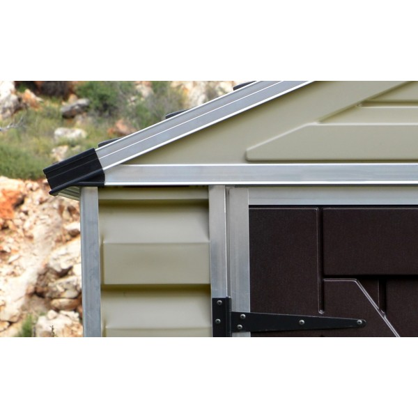 Skylights For Garage: Palram 6x12 Skylight Storage Shed Kit