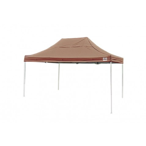 ShelterLogic 10x15 Straight Leg Pop-up Canopy - Bronze (22554)