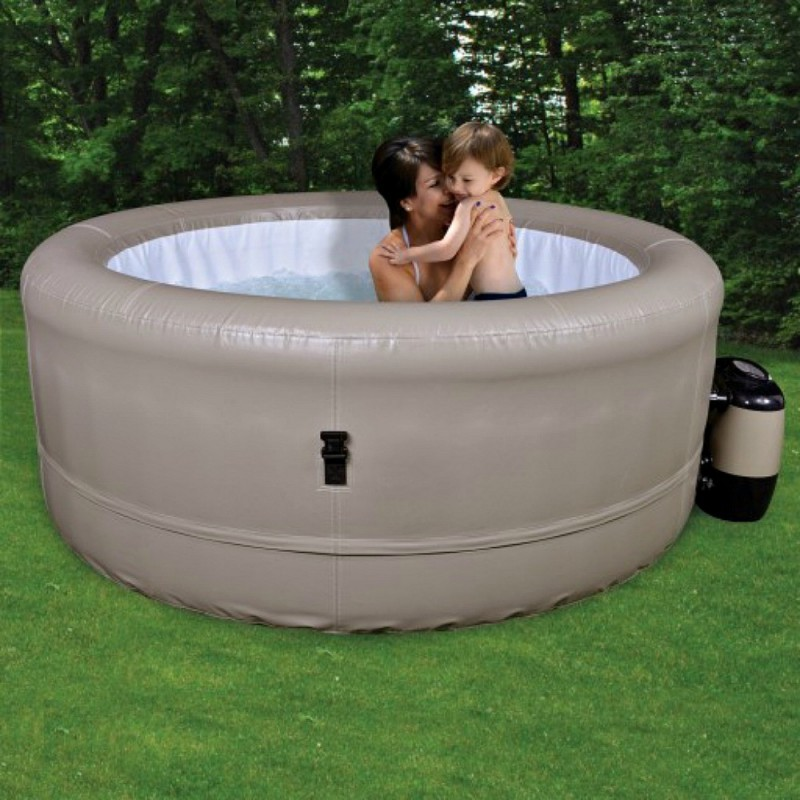 Blue Wave Simplicity Inflatable Spa Hot Tub - Tan (NP5760)