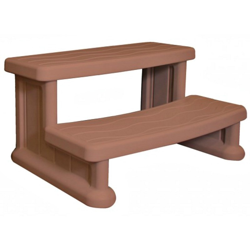 Blue Wave Economical Side Step Spa- Redwood (NP5403)