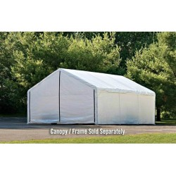 Shelter Logic 30x40 Canopy Enclosure Kit - White (27776)