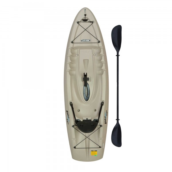 Lifetime 8 5 Ft Hydros Angler Kayak W Paddle Amp Rod
