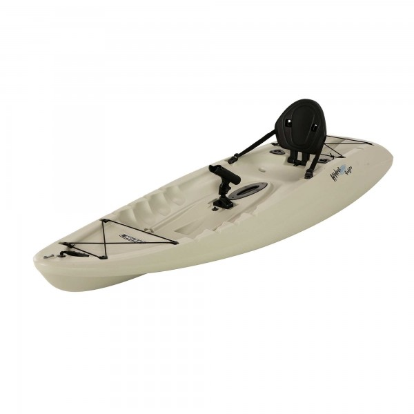 Lifetime 8 5 ft hydros angler kayak w paddle rod for Lifetime fishing kayak