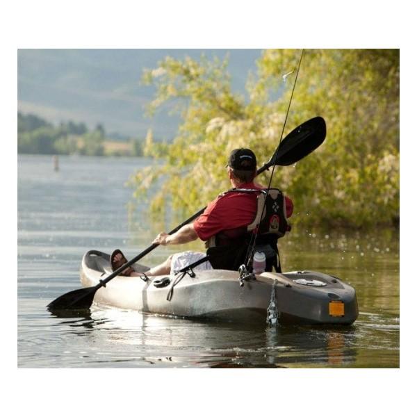 Lifetime 10 ft sit on top sport fisher kayak camouflage for Lifetime fishing kayak