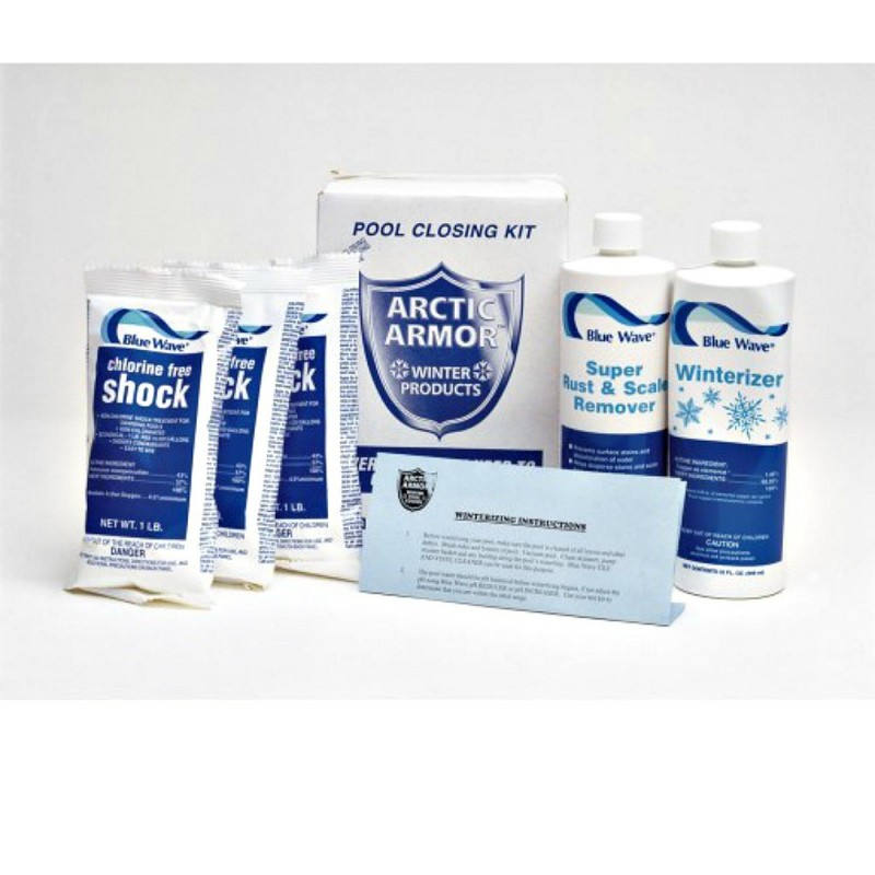Blue Wave 30,000 Gallon Chlorine Free Pool Closing Kit (NY938)