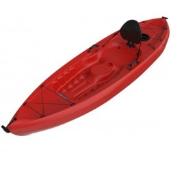 Lifetime 10 ft Sit-On-Top Tamarack 120 Kayak (Red) 90236