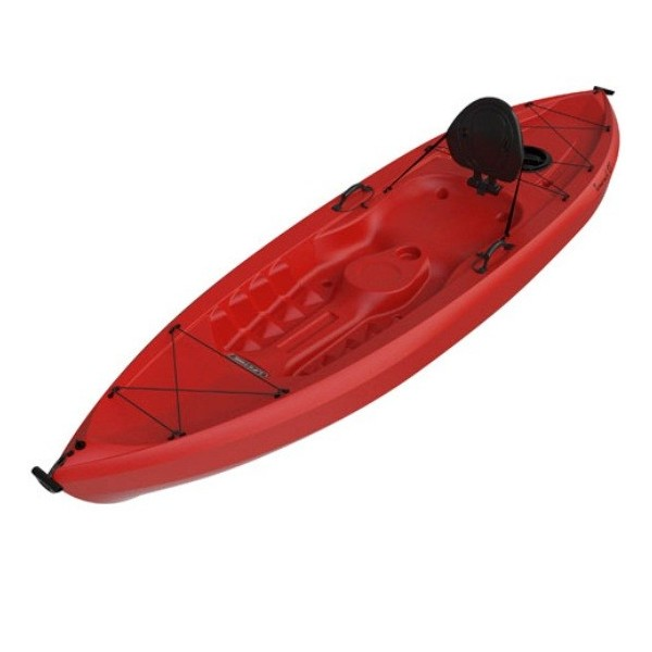 Lifetime 10 Ft Sit On Top Tamarack 120 Kayak Red 90236