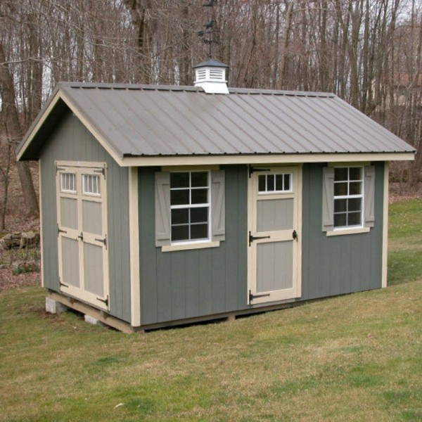 Ez Fit Riverside 10x12 Wood Shed Kit Ez Riverside1012