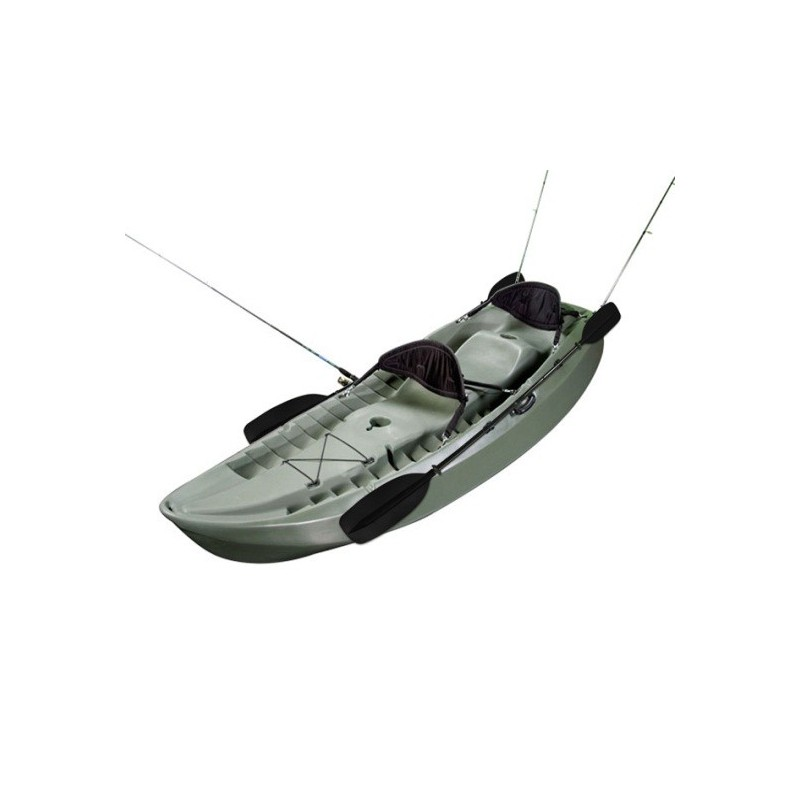 Lifetime 10 ft Sit-on-Top Sport Fisher Kayak (Olive Green) 90121