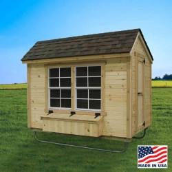 EZ-Fit Chicken Coop 5' X 8' (ez_chickencoop58)