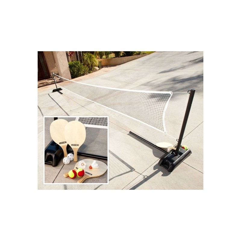 Lifetime Driveway 3 Sports Set: Badminton, Tennis & Pickleball 90421