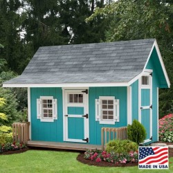 EZ-Fit Classic A-Frame 6' x 12' Playhouse Kit