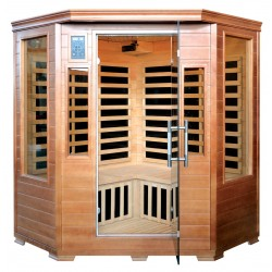 Blue Wave Majestic Sauna 3 Person Corner Unit (SA3212)