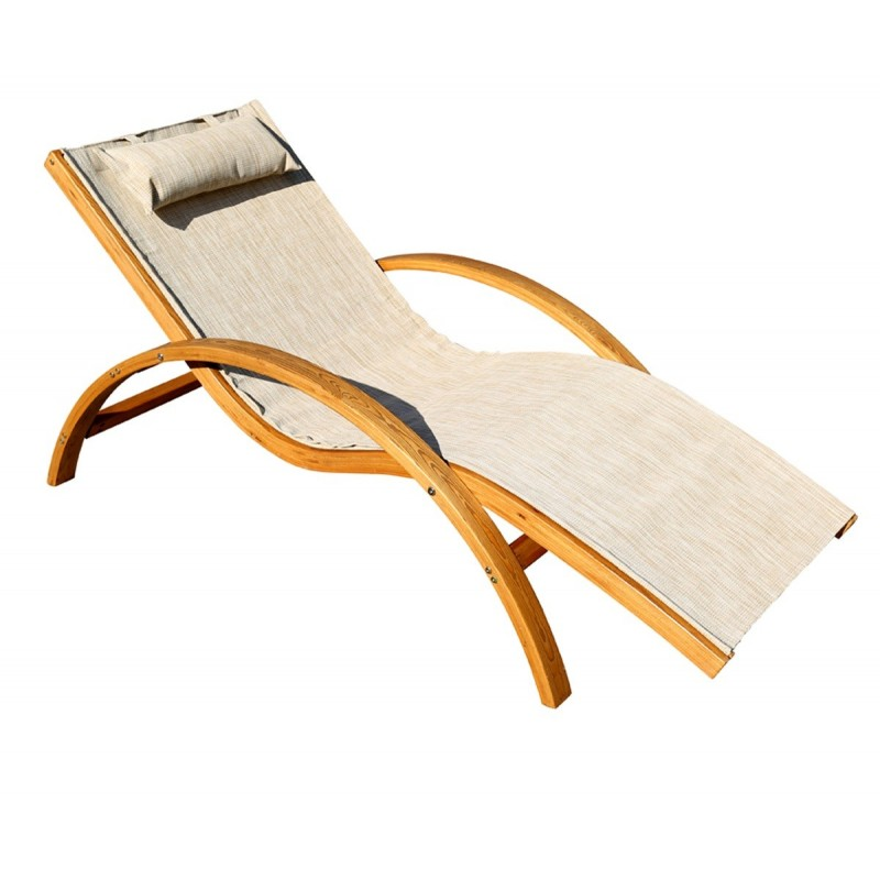 Leisure Season Sling Lounge Chair (SLC102)