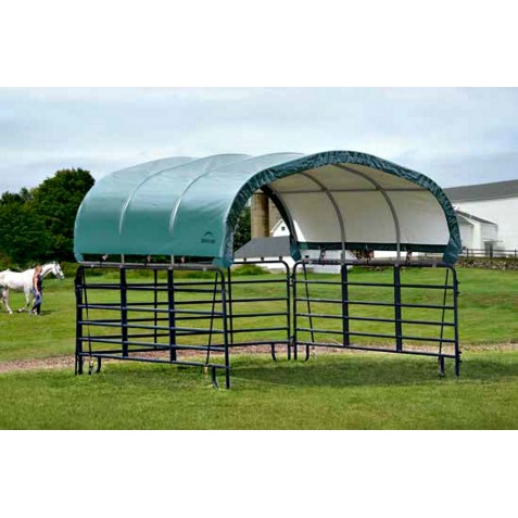 "ShelterLogic Corral Shelter 12'x12'x5'6"" (51512)"