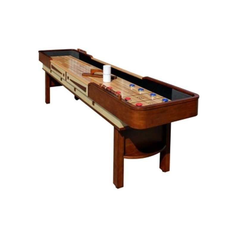 Carmelli Merlot 12-ft Shuffleboard Table (NG1312)