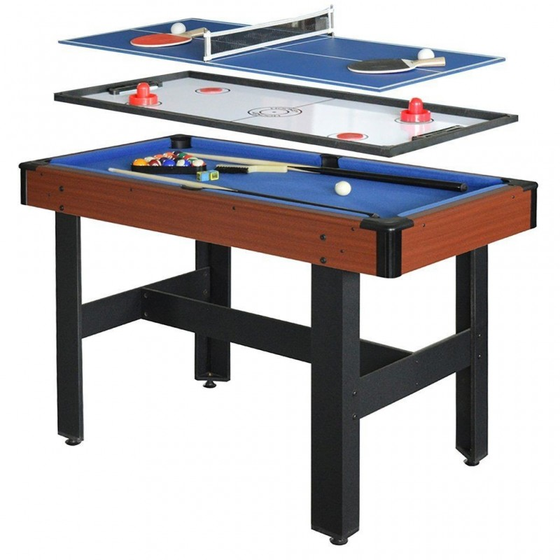 Carmelli 48-in 3-in-1 Triad Multi-Game Table (NG1131M)