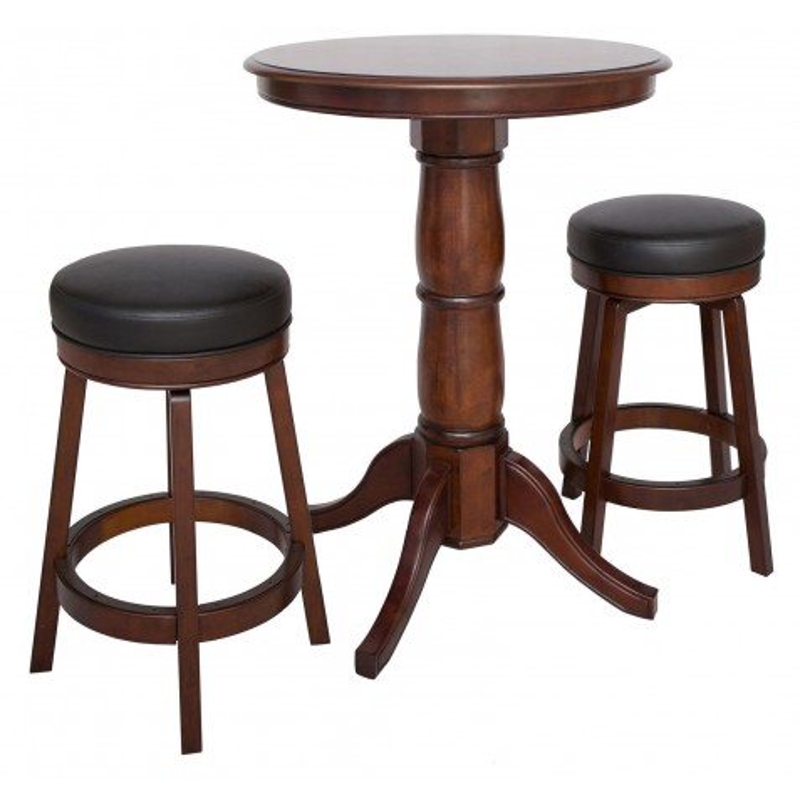 Carmelli Oxford 3 Piece Hardwood Table Set - Walnut Finish (NG2715W)