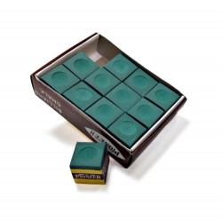 Carmelli 36- Pack Green Billiard Pool Chalk (NG2544-3)