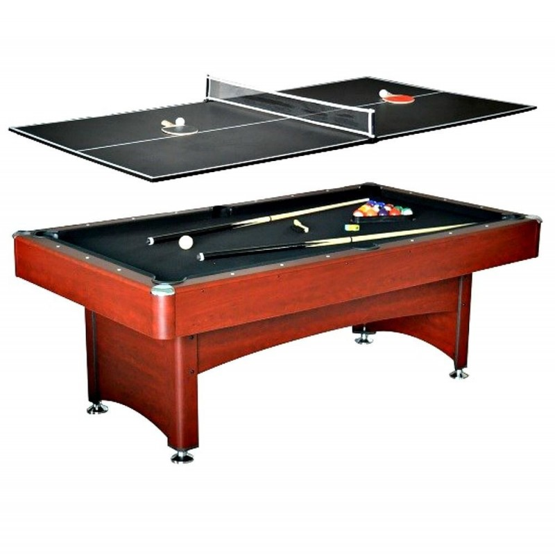 Carmelli Bristol 7-Ft Pool Table with table Tennis top (NG4023)