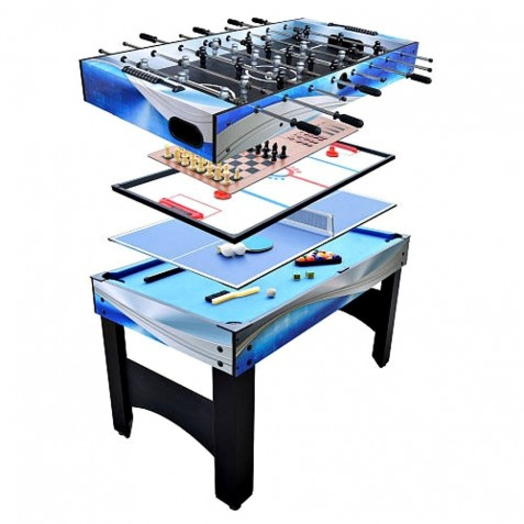 Carmelli Matrix 54-Inch 7-in-1 Multi-Game Table (NG1154M)