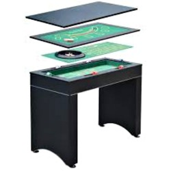 Carmelli Monte Carlo 4-in-1 Casino Game Table (NG1136M)