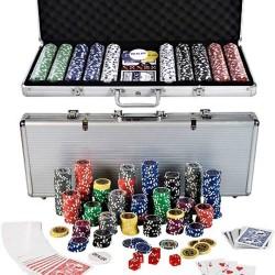 Carmelli Monte Carlo 500-Piece Poker Set (NG2367)