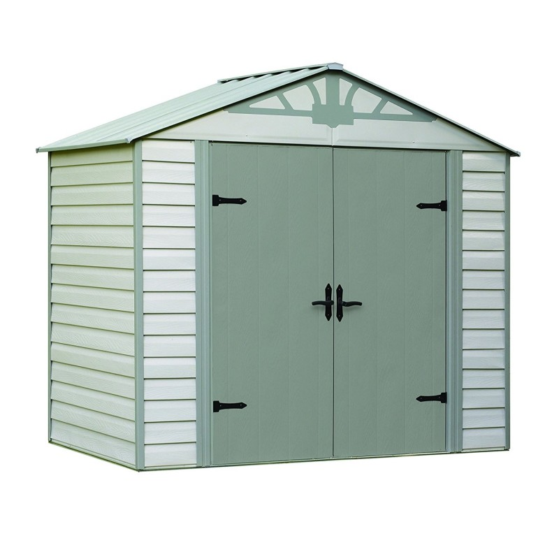 Arrow Admiral 8x5 Vinyl Coated Steel Shed Kit Hdvas85