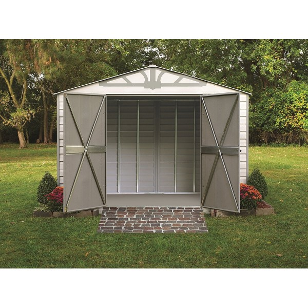 Arrow Admiral10x7 Vinyl Coated Steel Shed Kit Hdvas107